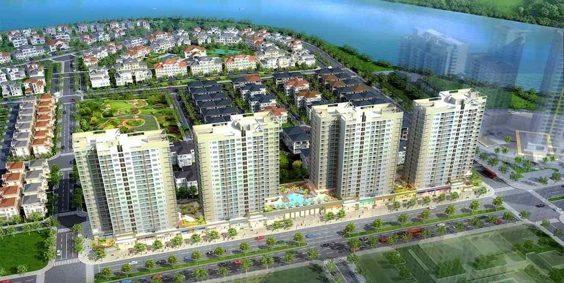 Dự án chung cư đường Nguyễn Lương Bằng - Hưng Phúc Happy Residence