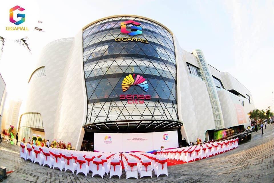Giga mall khai trường ngày 12:1:2019