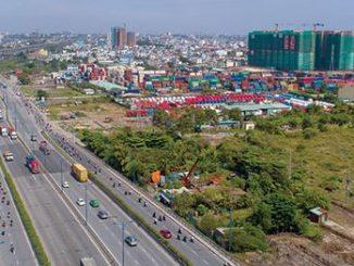 Hạ tầng giao thông phát triển là một trong những lý do giúp bất động sản quận 9 có sức hút lớn với giới đầu tư