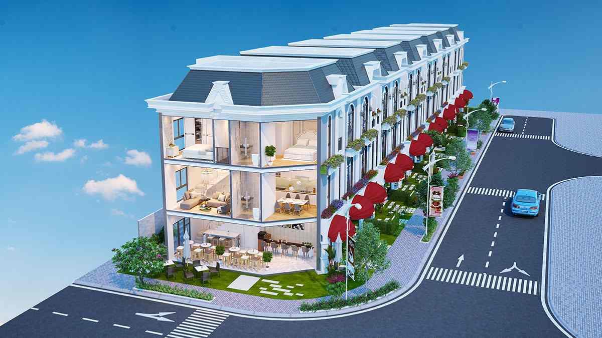 Mẫu nhà Vị trí dự án đất nền nhà phố khu dân cư đô thị Long Phú Villa Bình Chánh - Trần Anh