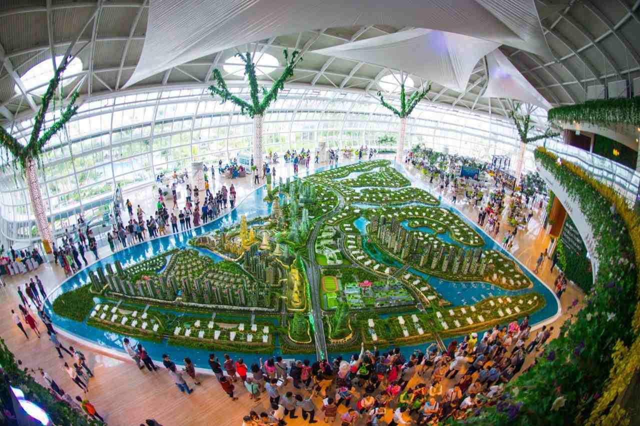 Mô hình dự án Forest City Malaysia
