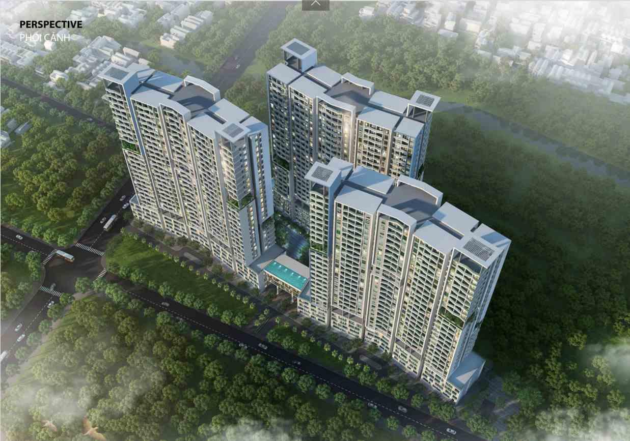 Phối cảnh dự án căn hộ chung cư Elysium Tower Gò Ô Môi - Quận 7