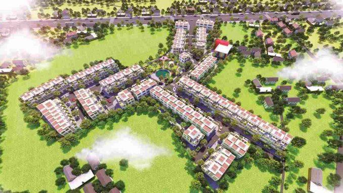 Quy mô dự án đất nền Hoàng Phúc Residence Cần Đước Long An