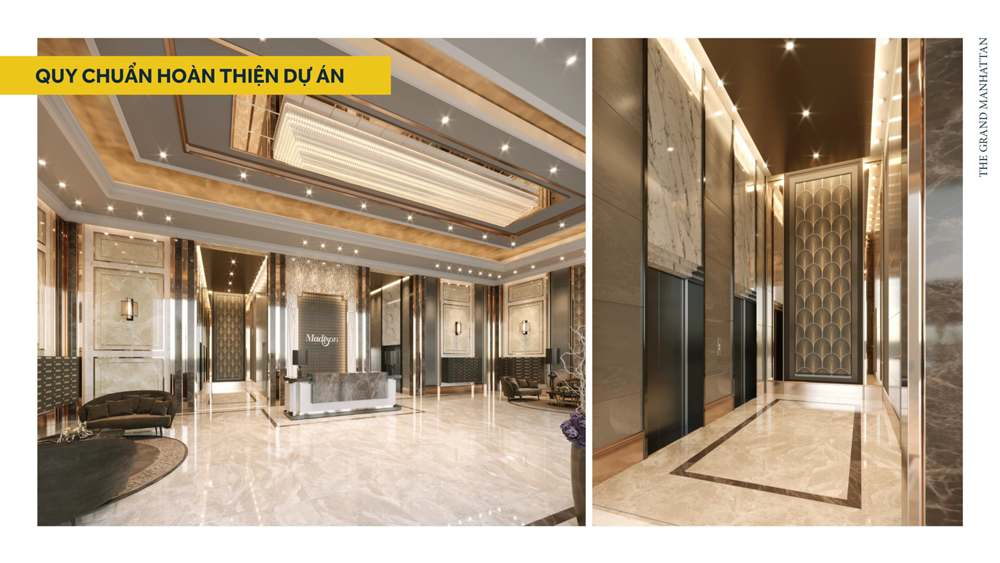 Sảnh The Grand Manhattan Quận 1