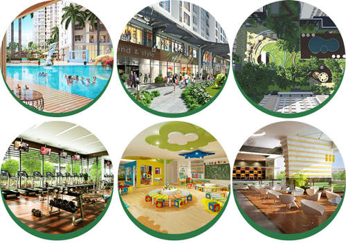 Tiện ích Dự án căn hộ CT Home Nơ Trang Long - Phạm Văn Đồng Quận Bình Thạnh