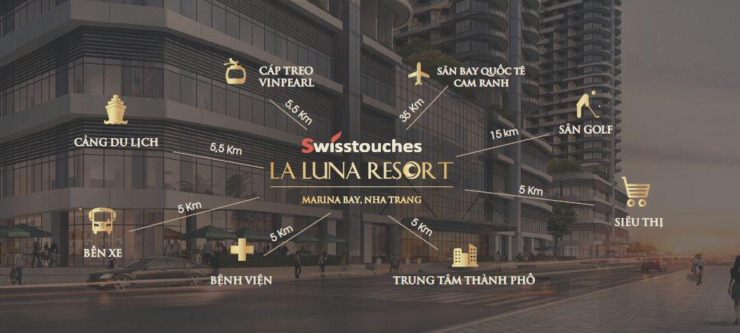 Tiện ích dự án Swisstouches La Luna Resort Nha Trang