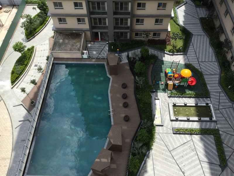 Tiện ích hồ bơi Dự án căn hộ chung cư Cosmo City Nguyễn Thị Thập Quận 7