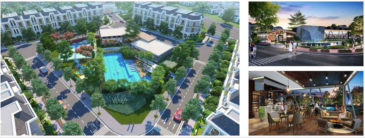 Tiện ích nội khu Vị trí dự án đất nền nhà phố khu dân cư đô thị Long Phú Villa Bình Chánh - Trần Anh