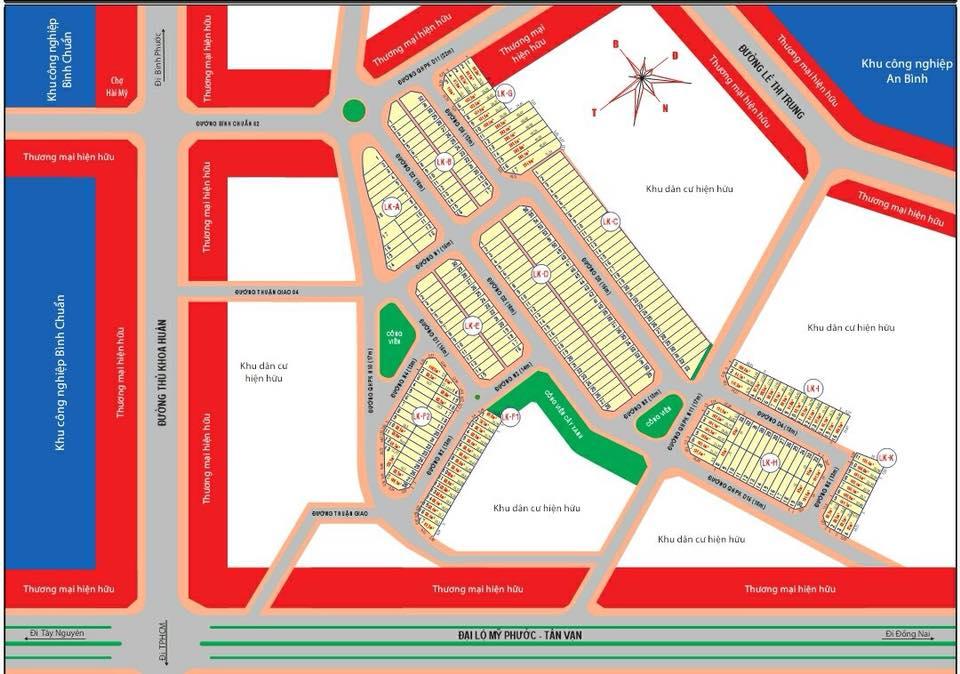 Tổng quan dự án đất nền khu dân cư Hài Mỹ New City Bình Dương