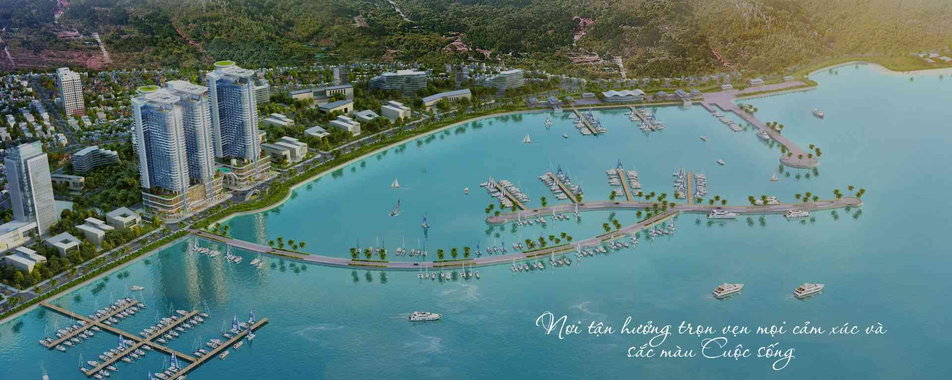 Tổng quan dự án Swisstouches La Luna Resort thành phố biển Nha Trang