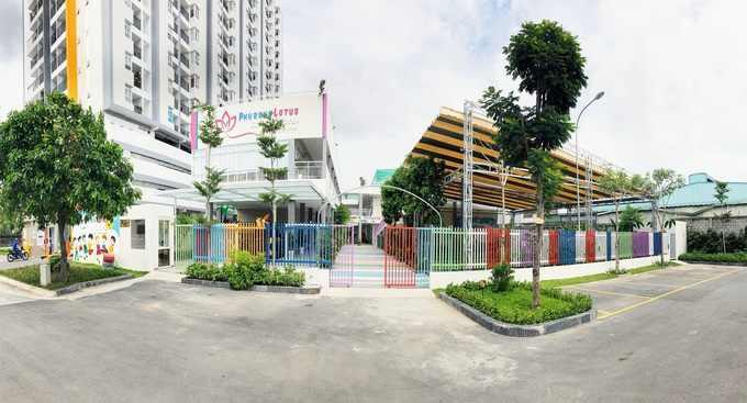 Trường mầm non chuẩn quốc tế Phú Đông Lotus Kindergarten