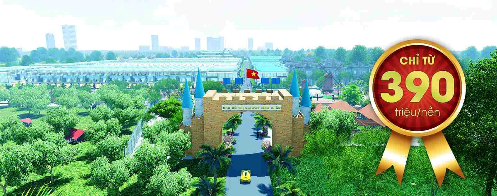 Dự án đất nền khu đô thị SeaWay Bình Châu - Bà Rịa Vũng Tàu