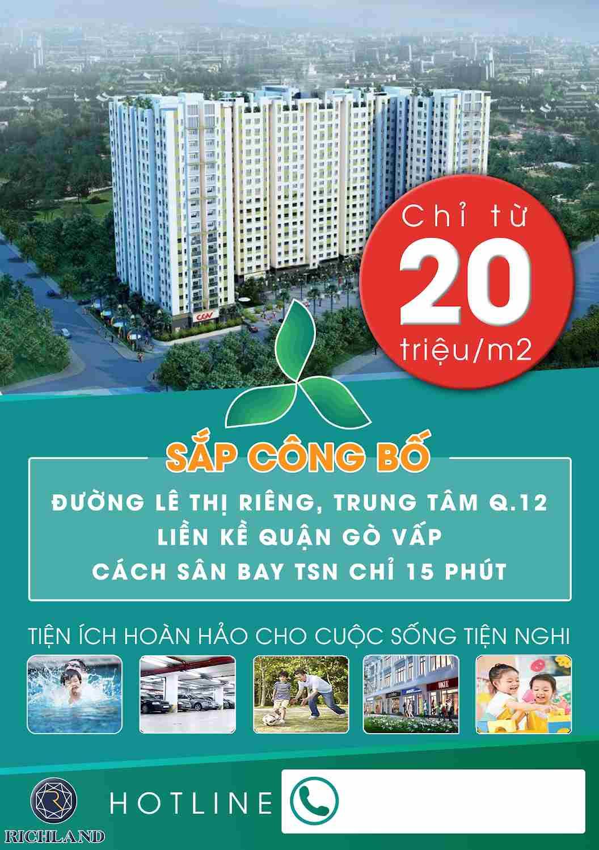 Dự án Green Mark Quận 12 - Rịchland - Đạt Gia Lê Thị Riêng