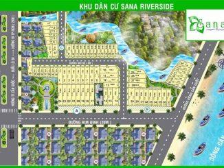 Phối cảnh dự án khu dân cư Sana Riverside Long An