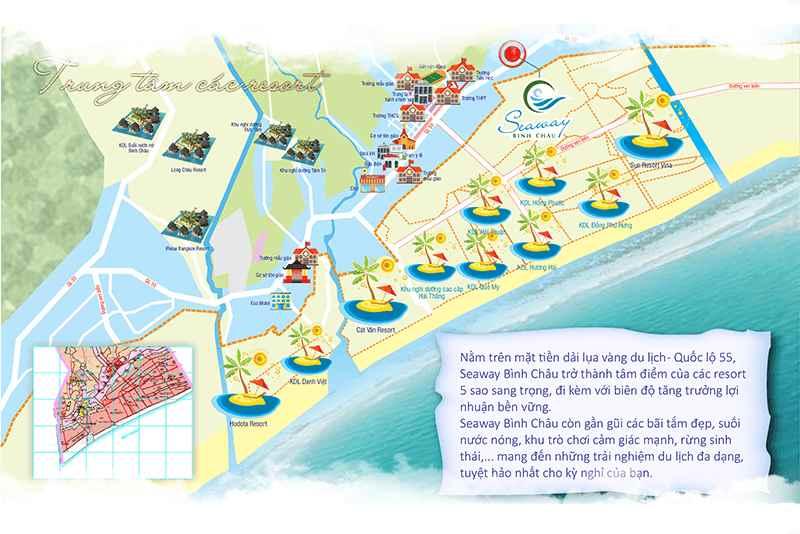 Tiện ích ngoại khu Dự án đất nền khu đô thị SeaWay Bình Châu - Bà Rịa Vũng Tàu