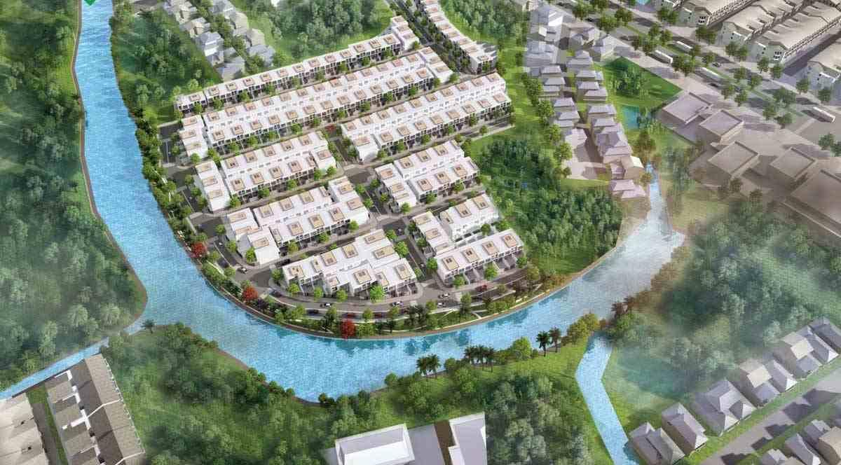Dự án đất nền khu dân cư South Riverside Nhà Bè Quận 7