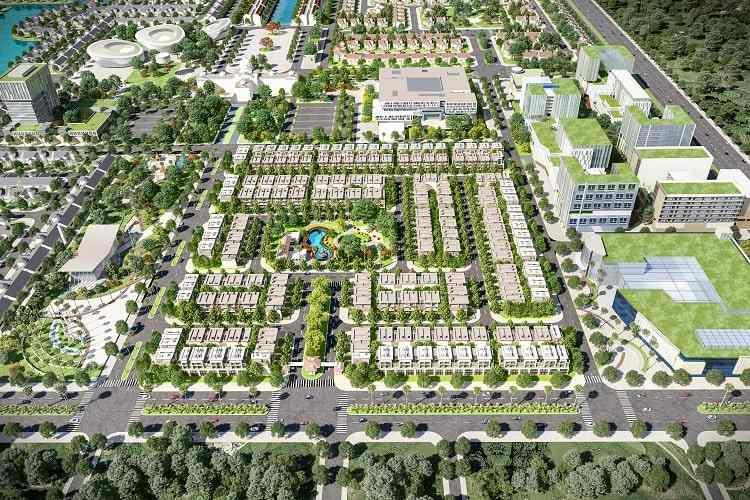 Dự án khu đô thị Everde City Đức Hoà Long An