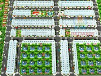 New Times City Bình Dương - Mặt bằng dự án đất nền nhà phố