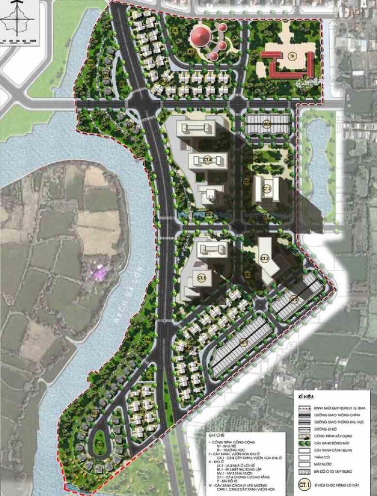 Corona City Bình Chánh - Khang Điền Group - Mặt bằng dự án
