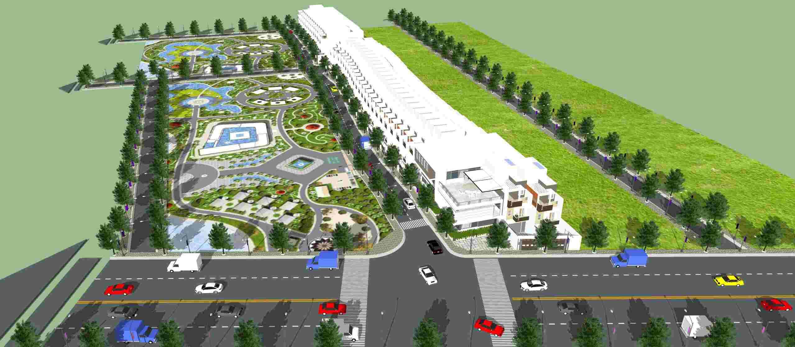 Hoàng Phúc Garden Cần Đước Long An - Tổng quan dự án đất nền