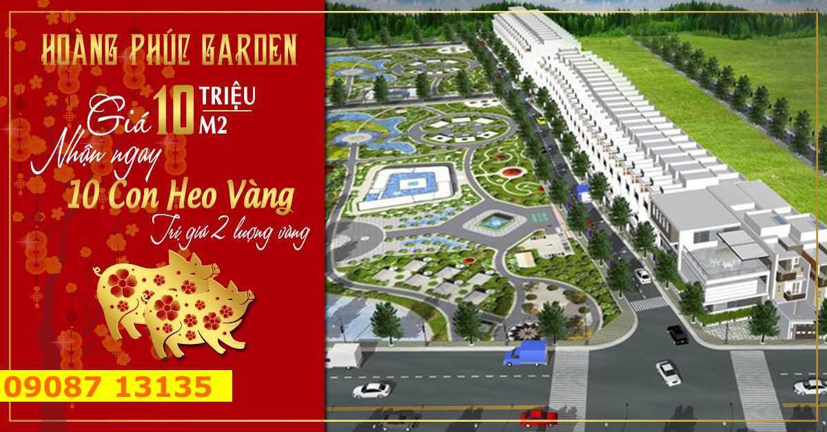 Hoàng Phúc Garden - Mở bán dự án đất nền