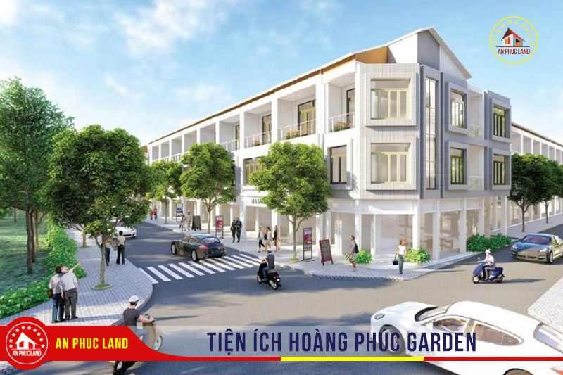 Hoàng Phúc Garden - Tiện ích dự án đất nền