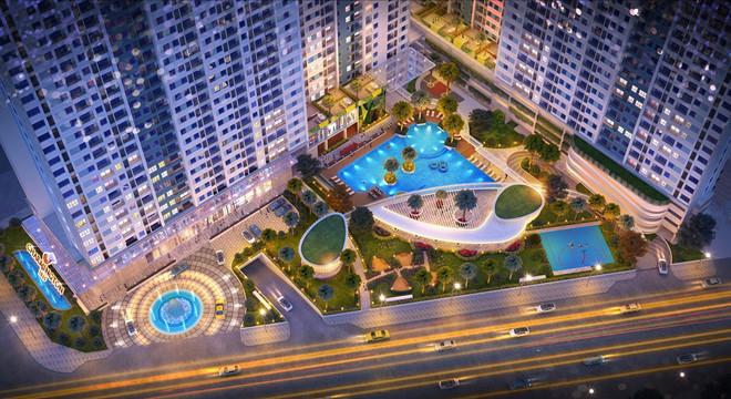 Iris Luxury Quận 7 - Dự án có nhiều tiện ích nội khu, nằm ngay mặt đường