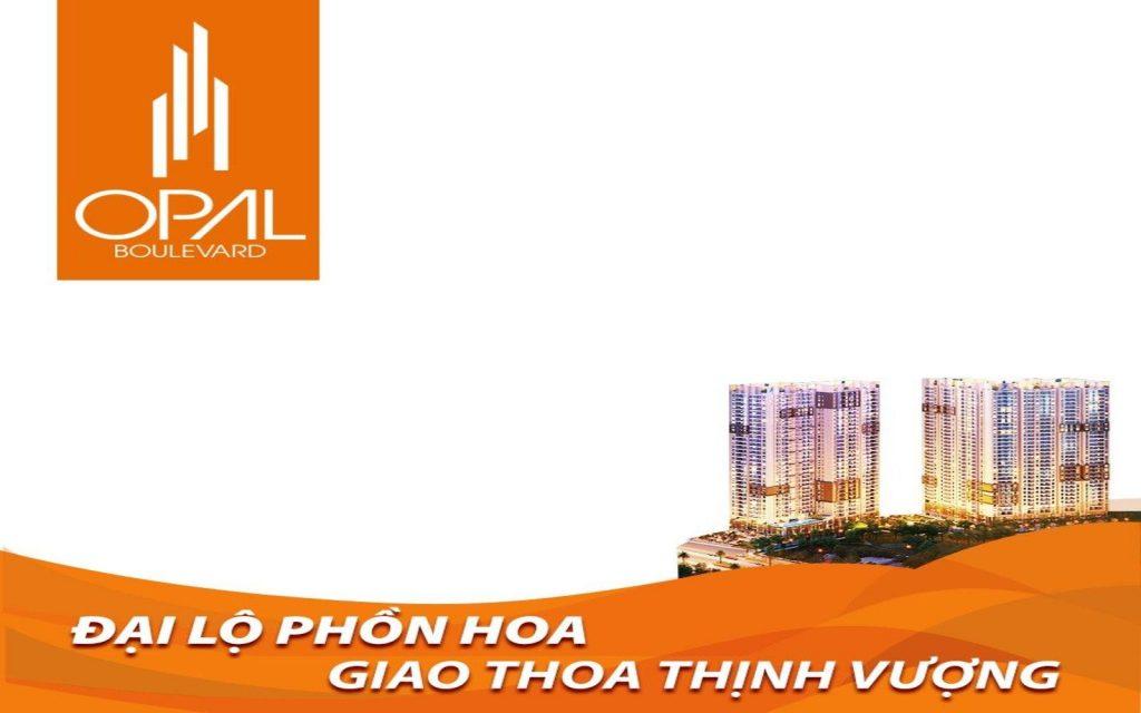 Opal Boulevard Phạm Văn Đồng - Phối cảnh dự án căn hộ cao cấp Đất Xanh Group