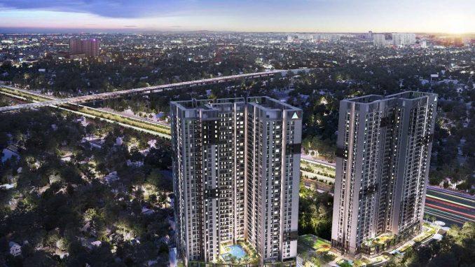Opal Boulevard Phạm Văn Đồng - Phối cảnh dự án căn hộ cao cấp ban đêm-