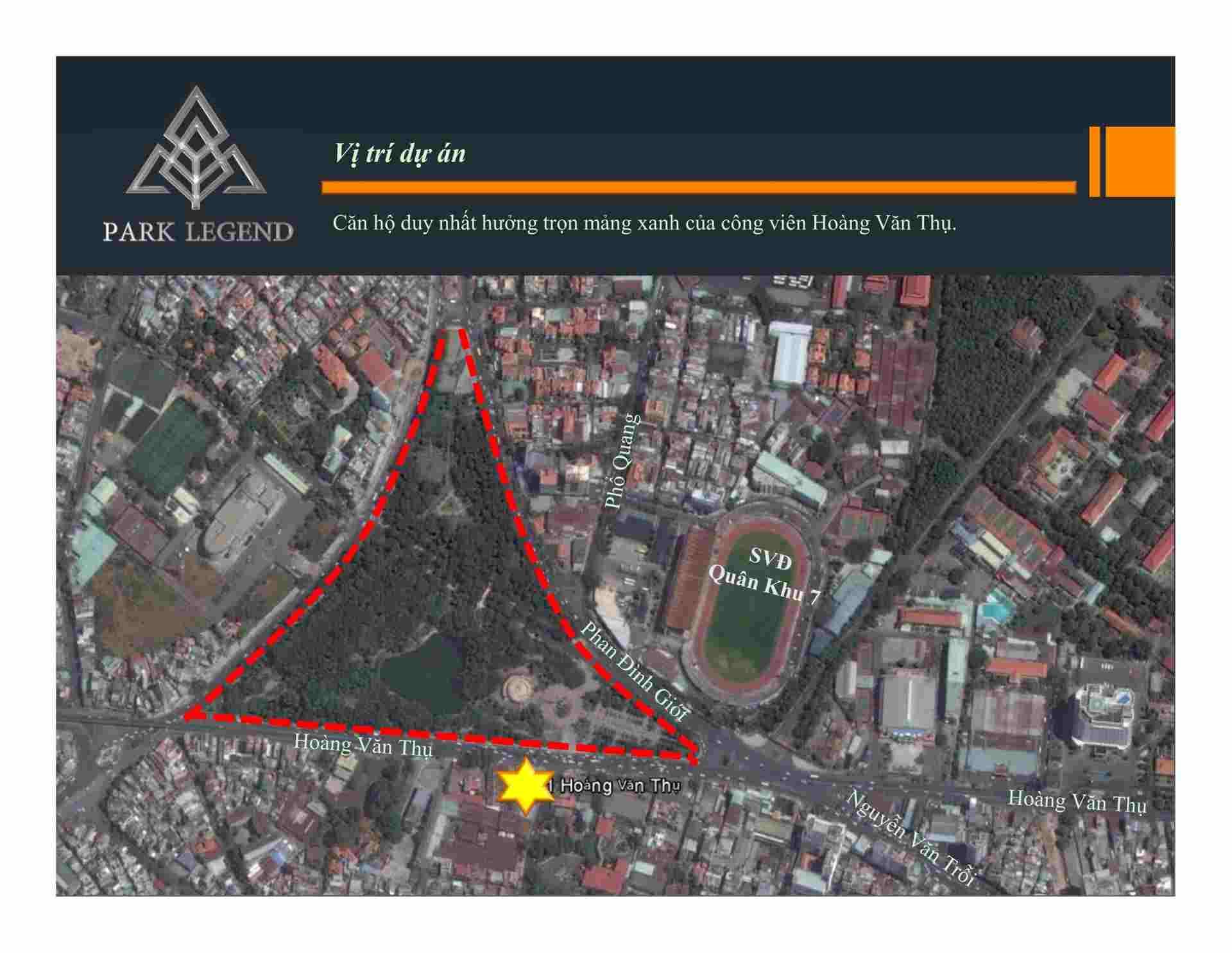 Park Legend Hoàng Văn Thụ Tân Bình - Vị trí Tổng thể dự án căn hộ -compressed
