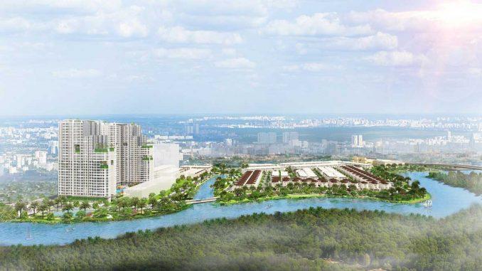 Senturia Nam Sài Gòn - Quận 7 Bình Chánh - Tổng quan dự án nhà phố + biệt thự