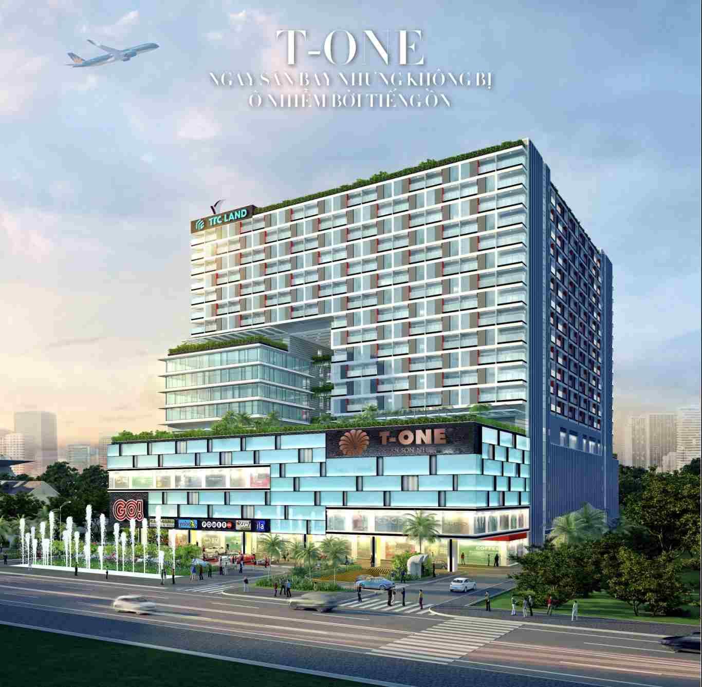 T-one Tân Sơn Nhất - 202 Hoàng Văn Thụ - TTC Land - Tổng quan dự án Offiece-compressed