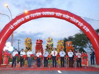 Thông xe tuyến đường số 10 KCN Thuận Đạo kết nối đường tỉnh 830