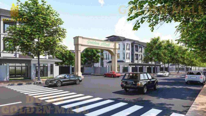 Golden Mall Quận 9 - Cổng chào dự án