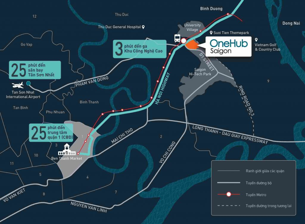 OneHub Saigon - Kết nối đa dạng