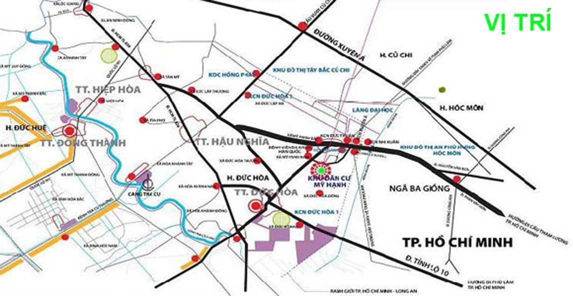 Quy hoạch huyện đức hoà năm 2019 - 2020