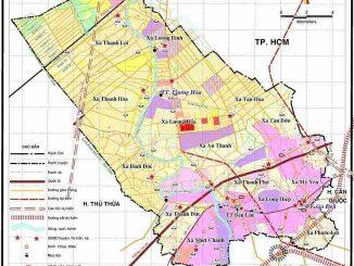 Quy hoạch huyện BẾn Lức từ năm 2019 - 2025