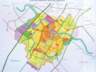 Quy hoạch thành phố Tân An, Long An năm 2019