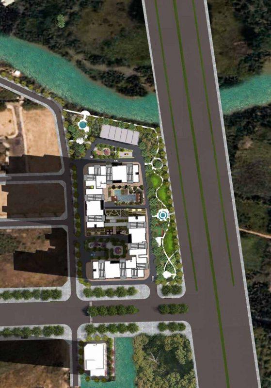Tecco Vina Garden Quận 9 - Mặt bằng tổng thể dự án căn hộ chung cư