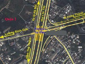 Vị trí - Các Chung cư căn hộ đường Song Hành Cao Tốc Quận 2, 9 - Tp