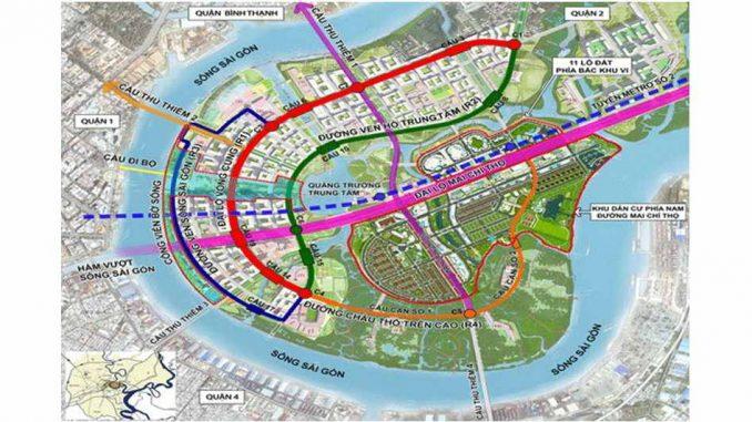 hạ tầng giao thông quận 2 năm 2019 - Các dự án BĐS căn hộ chung cư vẫn hút khách