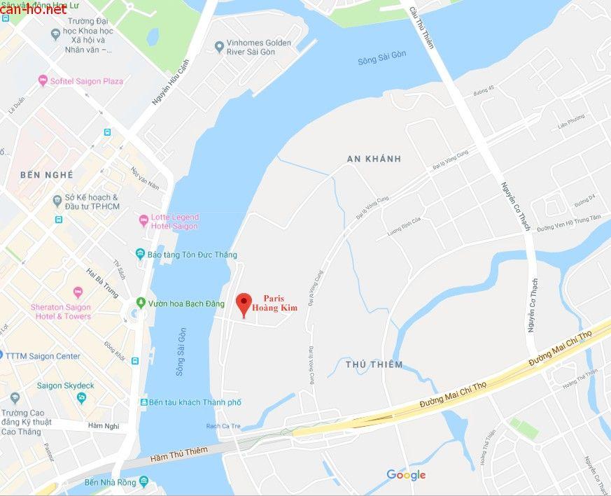Paris Hoàng Kim Quận 2 - Vị trí Tổng quan dự án căn hộ chung cư