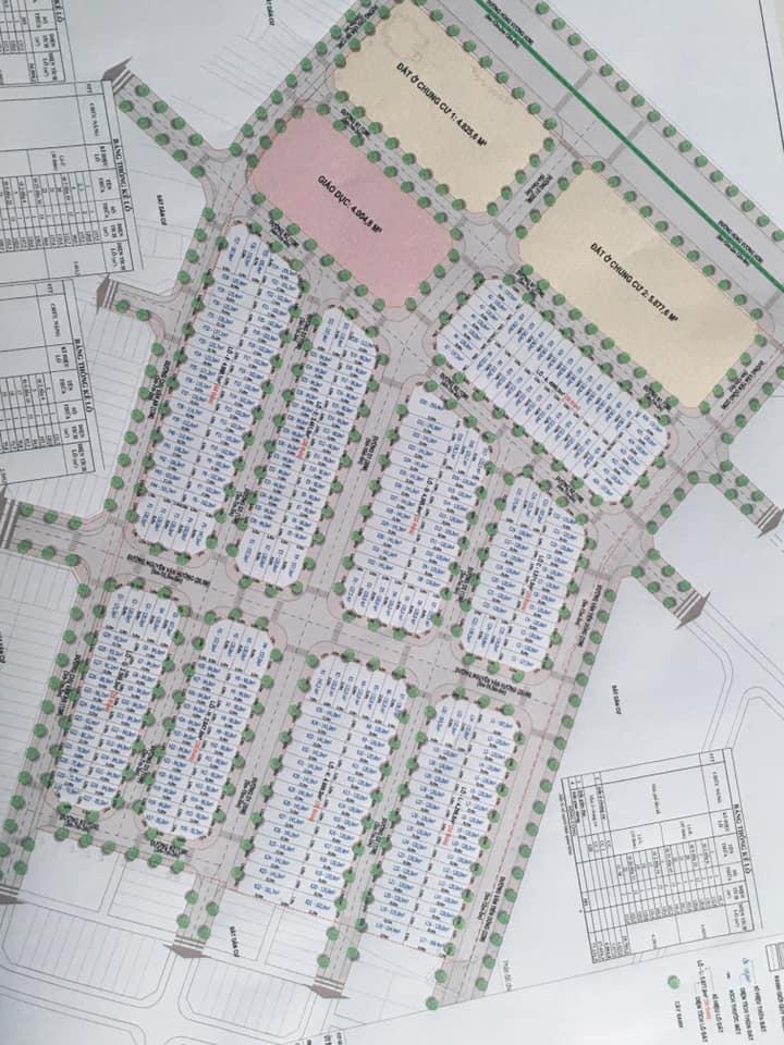 Baria Residence - Mặt bằng phân lô