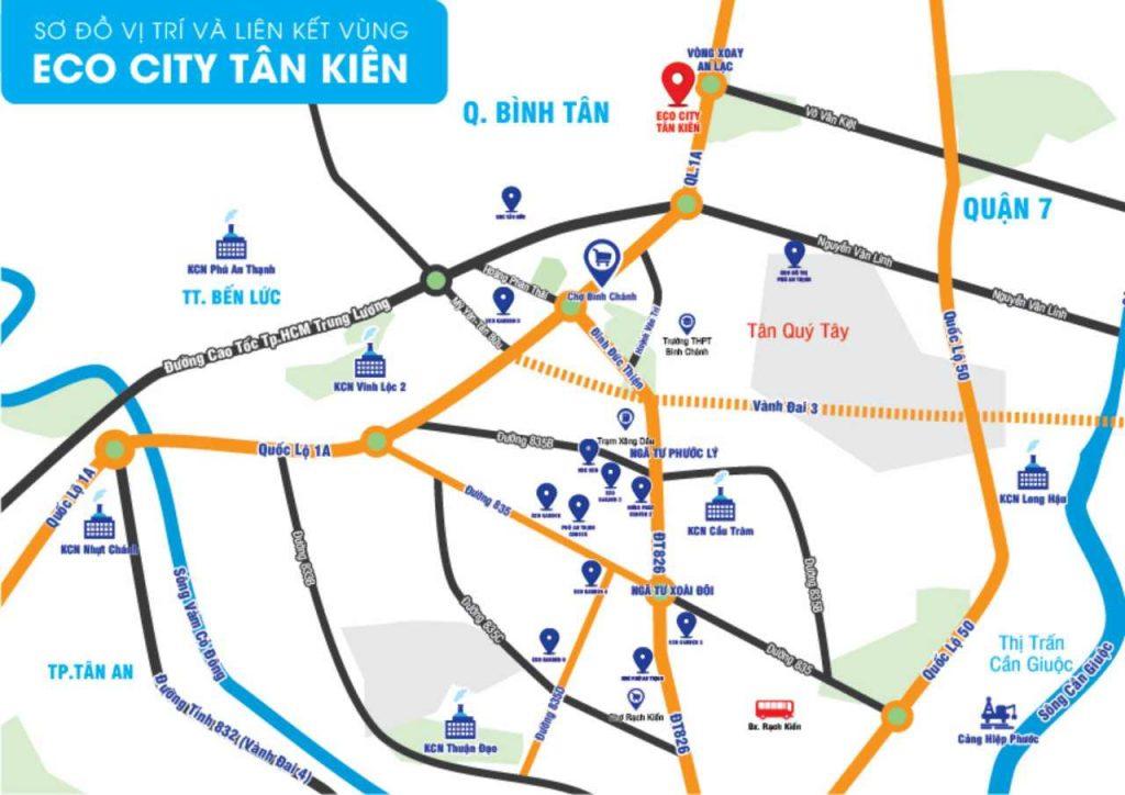 Eco City Tân Kiên - Dự án đất nền khu dân cư Bình Chánh