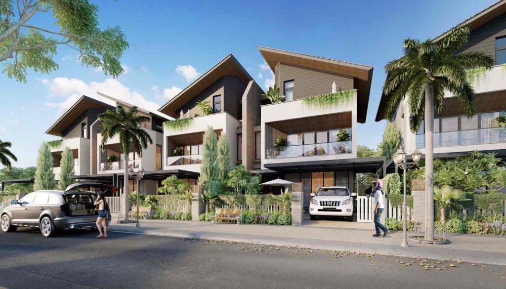 Eco Villas Cồn Khương Cần Thơ - Mẫu nhà phố Tập đoàn