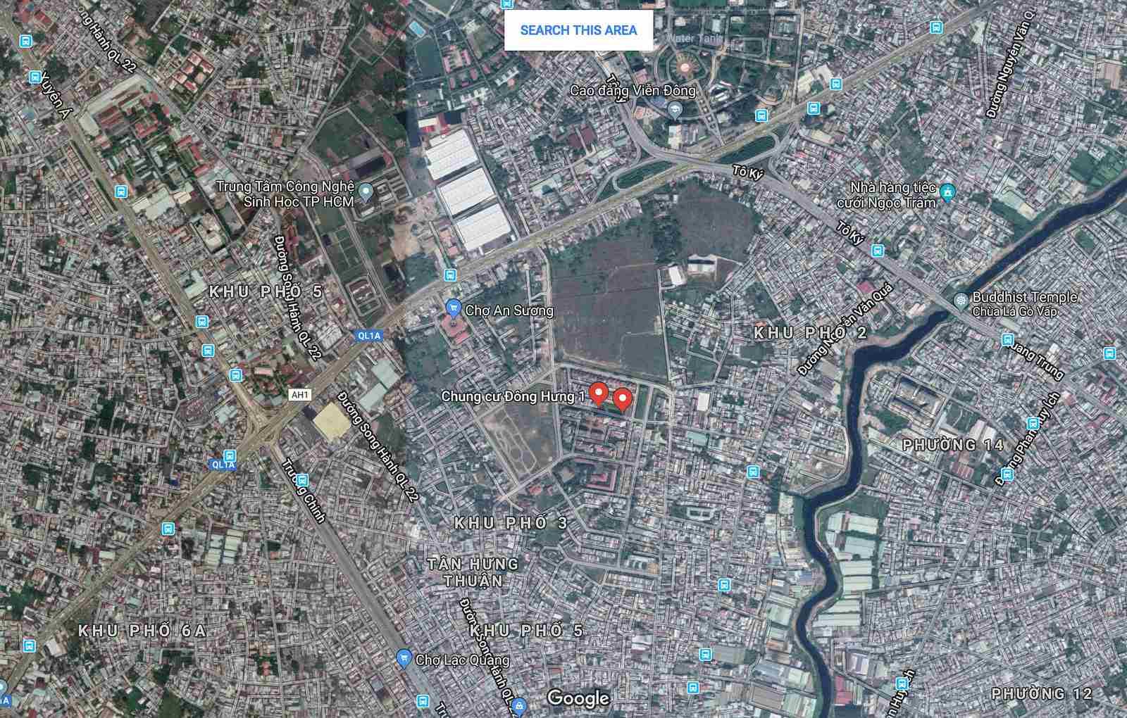 I-Park - Tổng-quan-dự-án-căn-hộ-chung-cư-Centeria-Đông-Thuận-Quận-12-vị trí