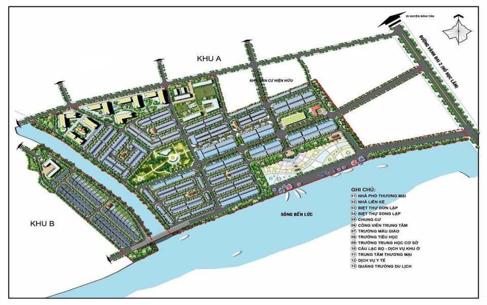 Jamona Eco Quận 8 - Mặt bằng dự án căn hộ NOXH