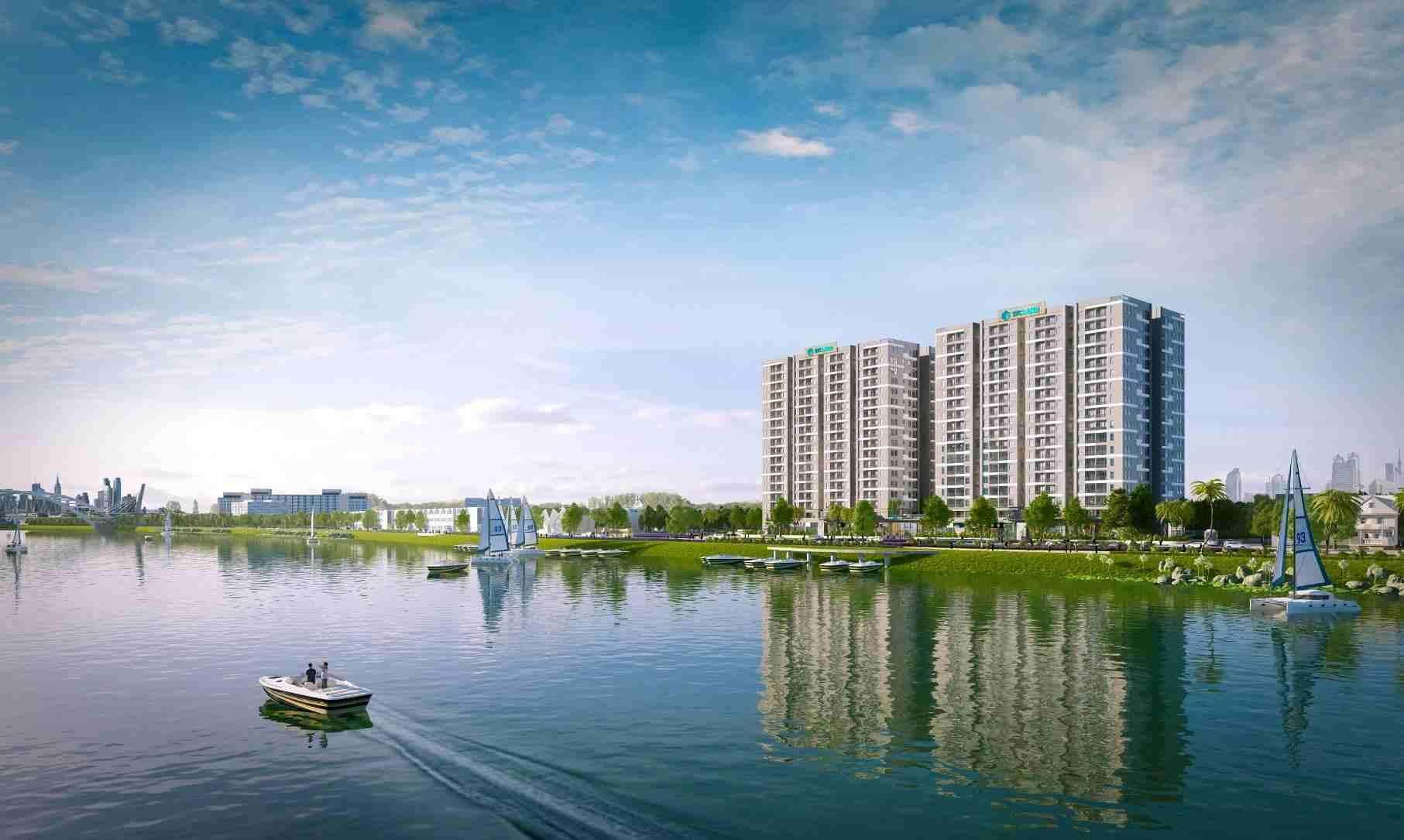 Jamona Eco Quận 8 - dự án căn hộ NOXH