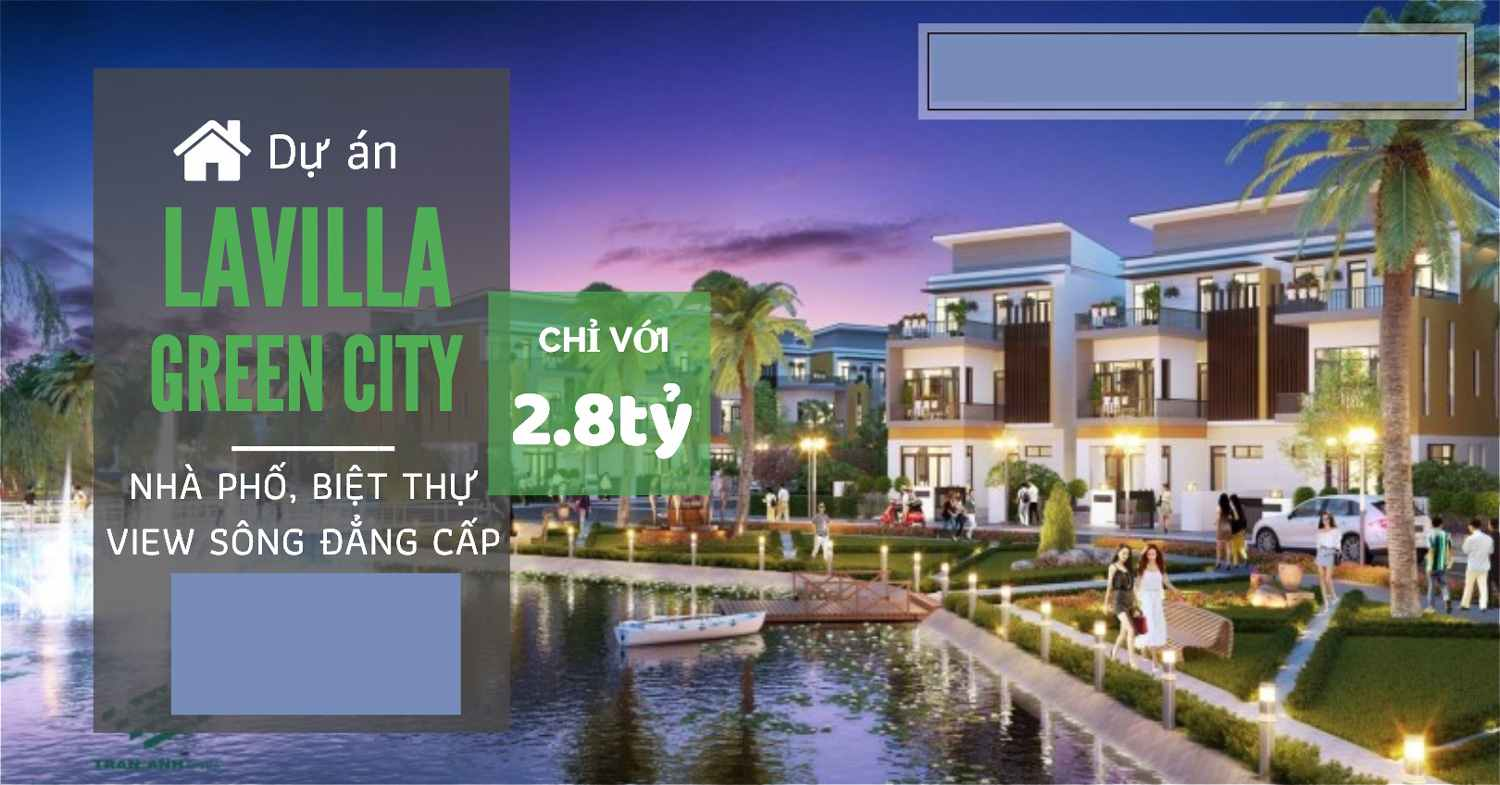 Lavilla Green City Tân An - Banner Long An