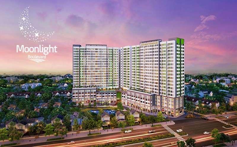 Những chung cư căn hộ đường Kinh Dương Vương – MoonLight Boulevard